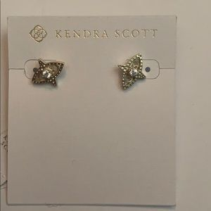 Kendra Scott, Harriet, Gold, Earrings, NWT